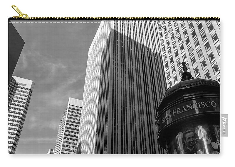 City Carry-all Pouch featuring the photograph San Francisco by Jonathan Nguyen