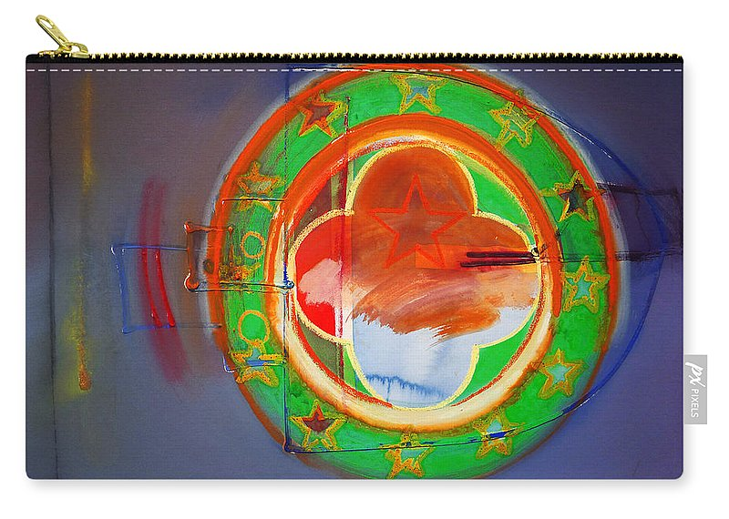 Symbol Carry-all Pouch featuring the painting Ship Of State by Charles Stuart