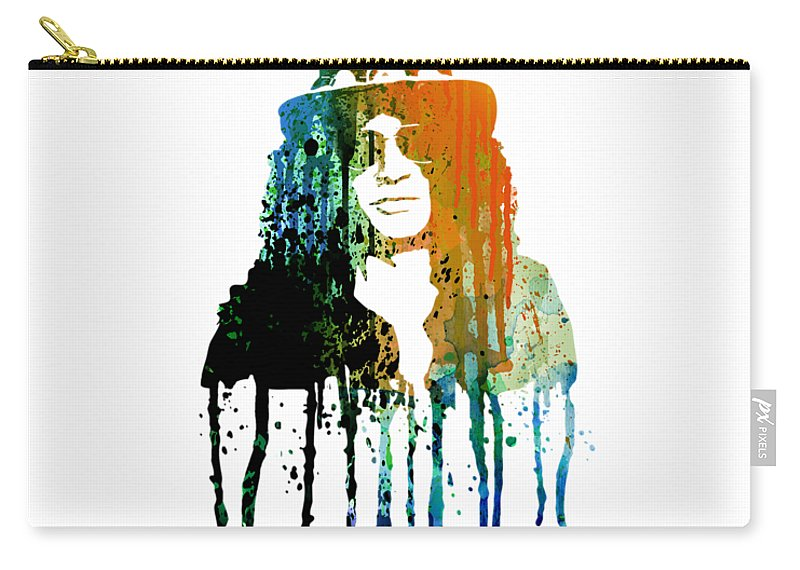 Slash Carry-all Pouch featuring the painting Slash by Art Popop