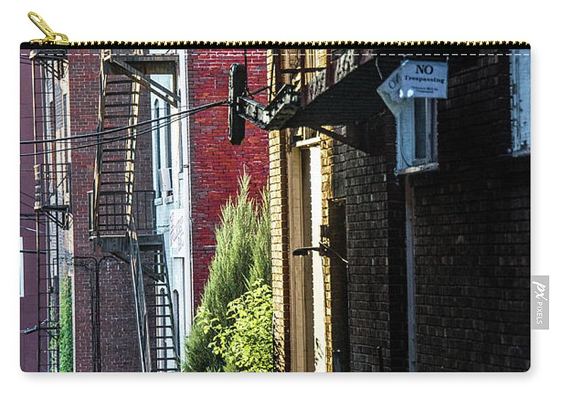 Morgantown Carry-all Pouch featuring the photograph Solitude by Jacki Marino