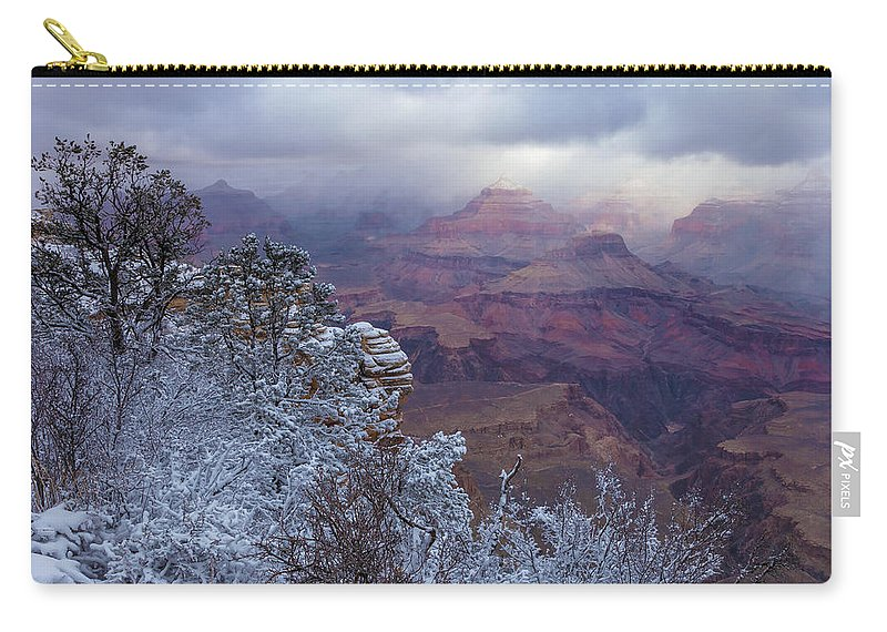 Landscape Carry-all Pouch featuring the photograph Spot Light by Jonathan Nguyen