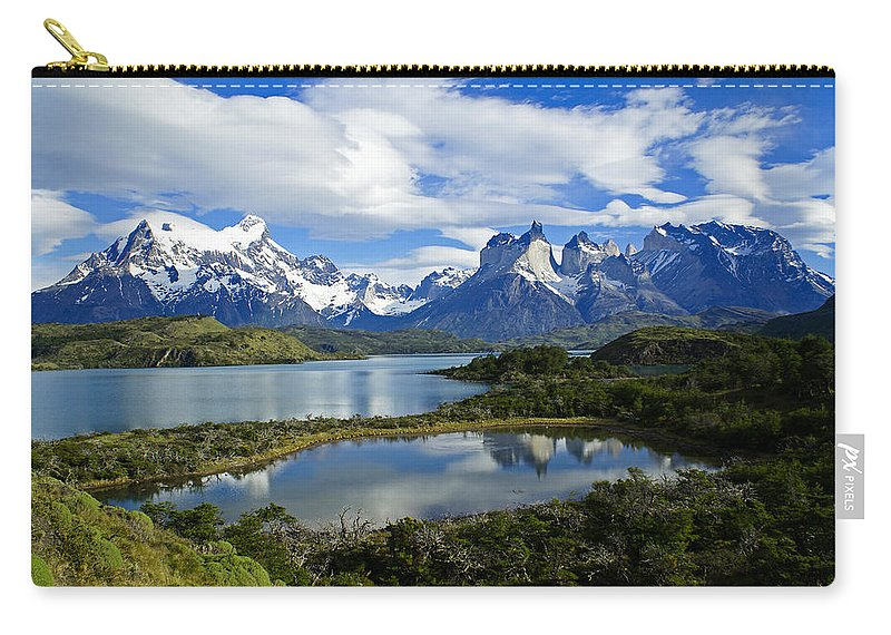 Patagonia Carry-all Pouch featuring the photograph Springtime in Patagonia by Michele Burgess