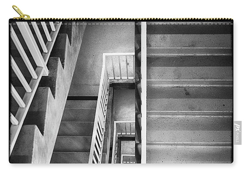 Pattern Carry-all Pouch featuring the photograph Stairs by Hugh Smith