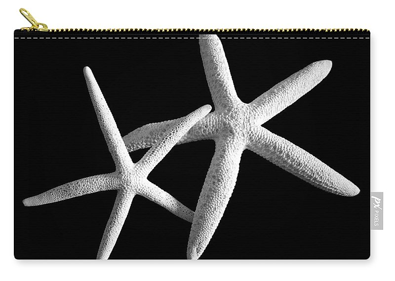 Mary Deal Carry-all Pouch featuring the photograph Starfish Tango by Mary Deal