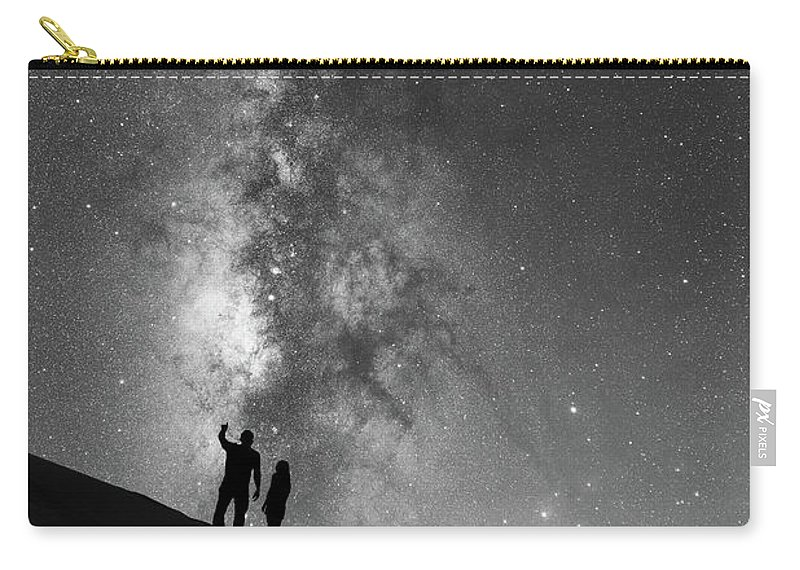 Star Crossed Lovers Carry-all Pouch featuring the photograph Stargazers by Michael Ver Sprill