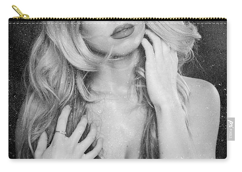 Art Carry-all Pouch featuring the photograph Steamy Wet by Jt PhotoDesign