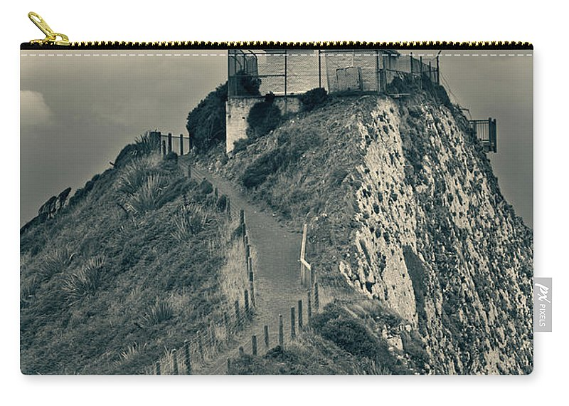 Beach Carry-all Pouch featuring the photograph Stormy Weather by U Schade
