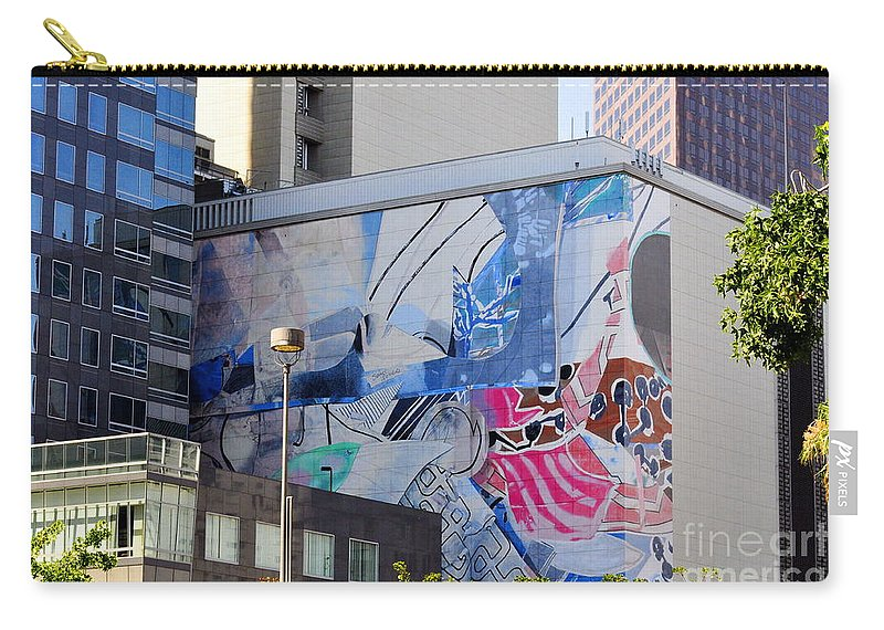 Clay Carry-all Pouch featuring the photograph Street Photography by Clayton Bruster