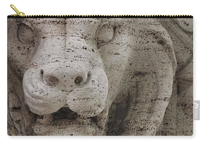 Italy Carry-all Pouch featuring the photograph Strength And Courage by JAMART Photography