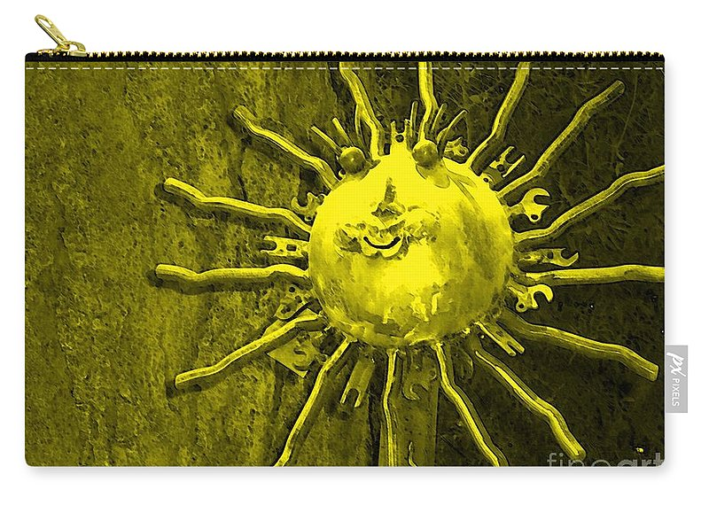 Sun Carry-all Pouch featuring the photograph Sun Tool by Debbi Granruth