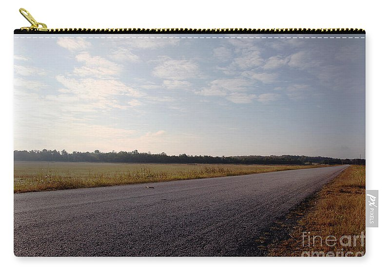 Streets Carry-all Pouch featuring the photograph Sunday Drive by Amanda Barcon