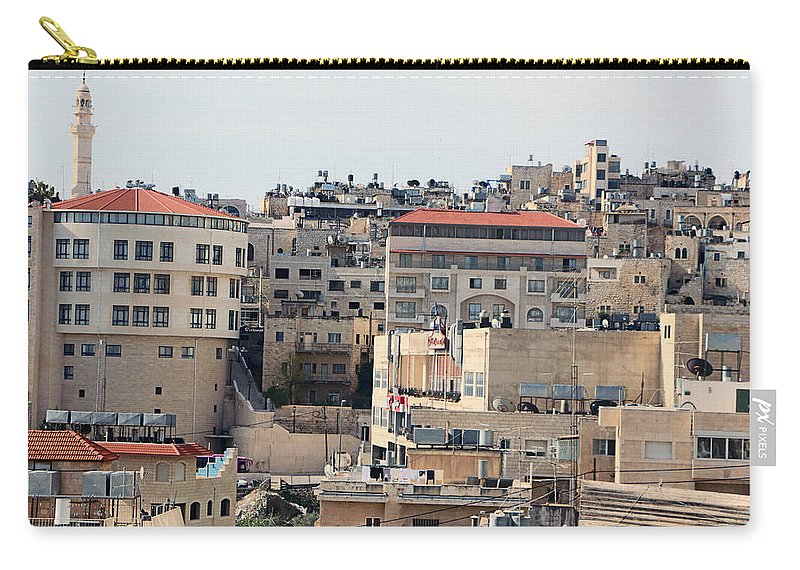 Bethlehem Carry-all Pouch featuring the photograph Sunny Day by Munir Alawi