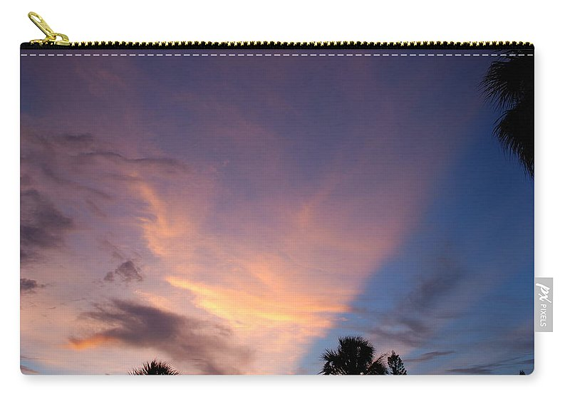 Sunset Carry-all Pouch featuring the photograph Sunset At Pine Tree by Rob Hans