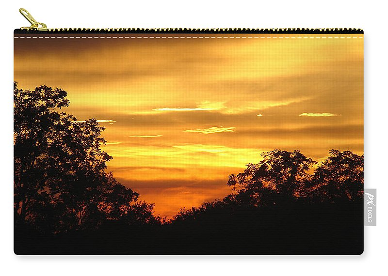 Evening Carry-all Pouch featuring the photograph Sunset by Heidi Poulin