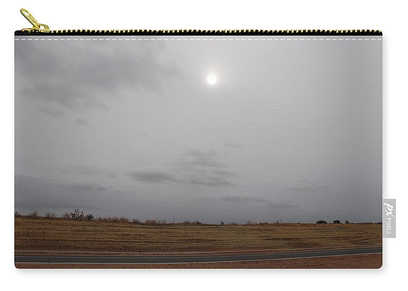 Desert Carry-all Pouch featuring the photograph Sunset In The Desert by Rob Hans