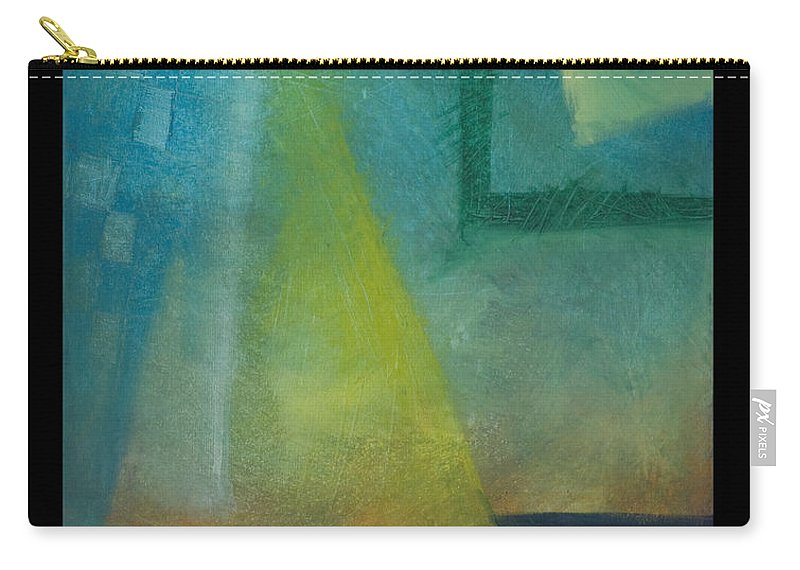 Sunset Carry-all Pouch featuring the painting Sunset Sail by Tim Nyberg
