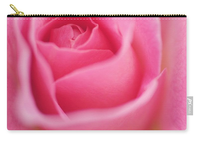 Carry-all Pouch featuring the photograph Sweet Rosiness by The Art Of Marilyn Ridoutt-Greene