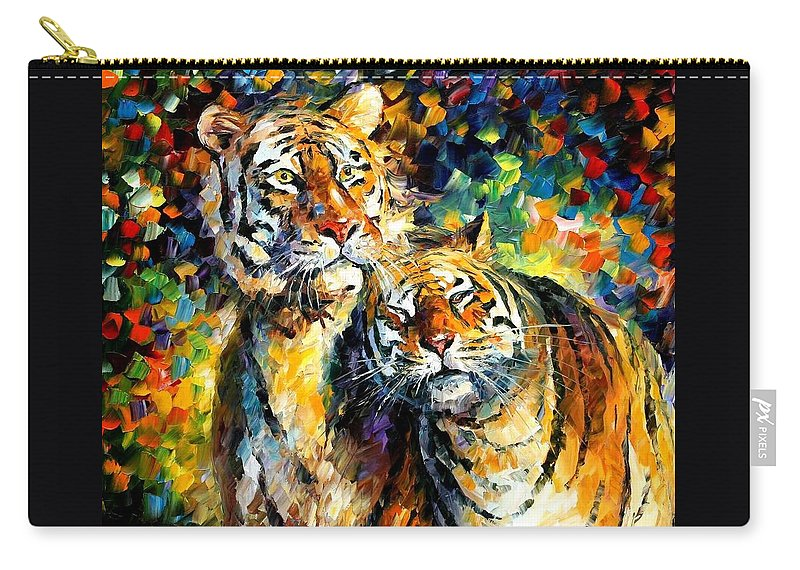 Afremov Carry-all Pouch featuring the painting Sweetness by Leonid Afremov