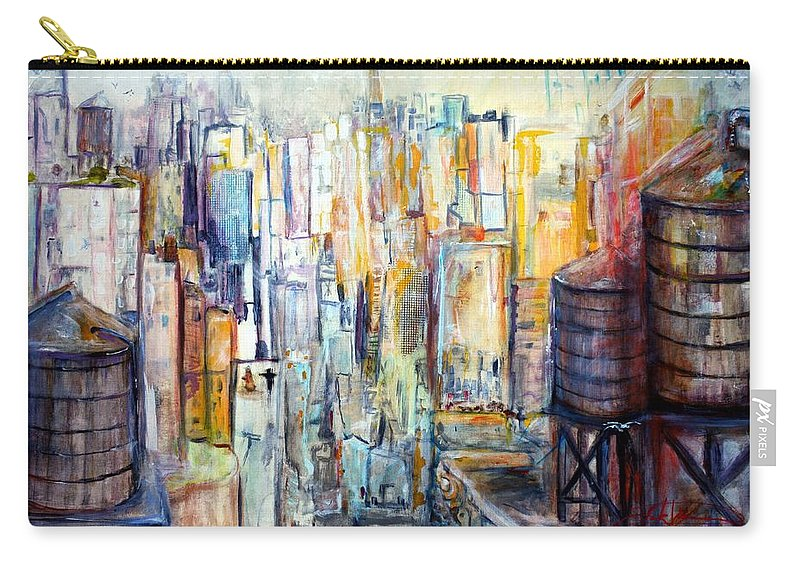 Jack Diamond Carry-all Pouch featuring the painting Tanks For The Memories by Jack Diamond