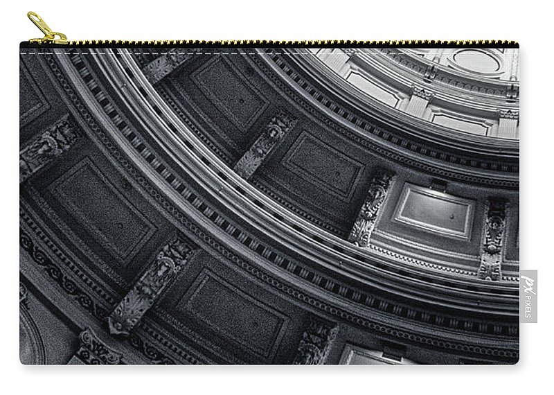 Texas State Capitol Carry-all Pouch featuring the photograph Texas State Capitol by Doug Sturgess