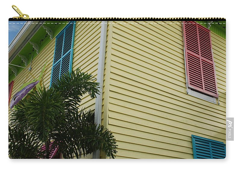 Architecture Carry-all Pouch featuring the photograph The Beach House by Rob Hans