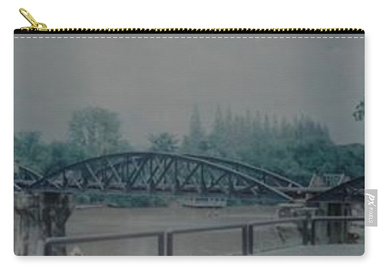 Bridge Carry-all Pouch featuring the photograph The Bridge On The River Kwai by Rob Hans