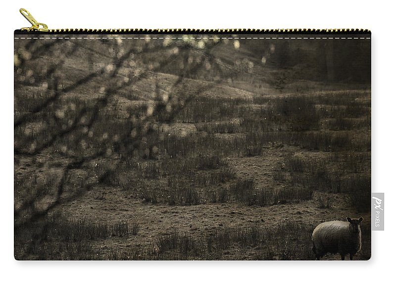 Easter Carry-all Pouch featuring the photograph The Countryside by Angel Tarantella