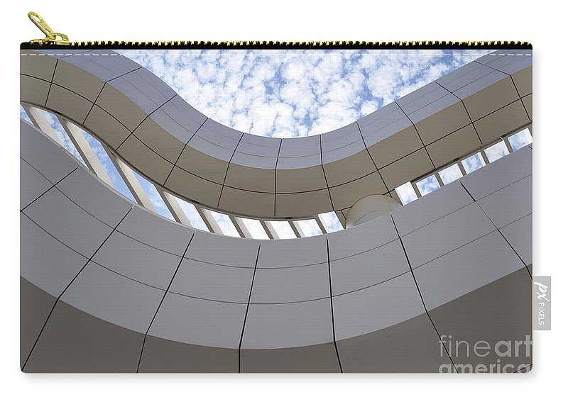 Clay Carry-all Pouch featuring the photograph The Getty by Clayton Bruster
