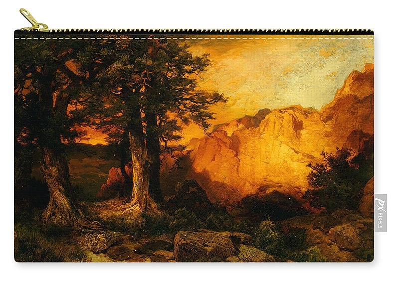 Thomas Moran Carry-all Pouch featuring the painting The Grand Canyon by Thomas Moran