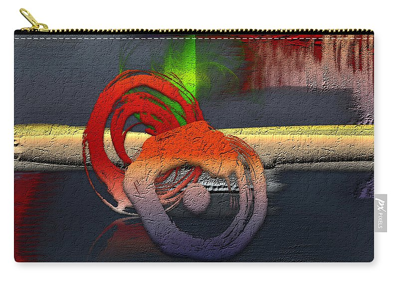 Abstracts Plus By Serge Averbukh Carry-all Pouch featuring the photograph The Night is Young by Serge Averbukh
