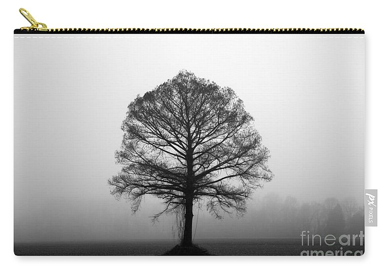 Tree Carry-all Pouch featuring the photograph The Tree by Amanda Barcon