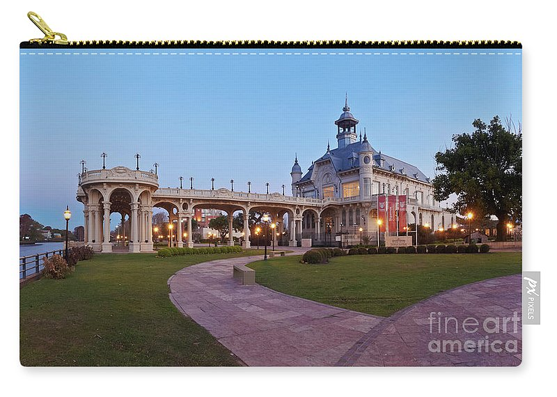 South America Carry-all Pouch featuring the photograph Tigre, Argentina by Karol Kozlowski