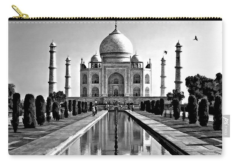 Taj Carry-all Pouch featuring the photograph To Love... by Steve Harrington