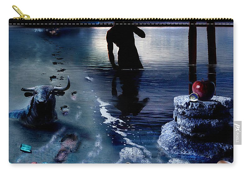 Treasure Carry-all Pouch featuring the photograph Treasure Island by Mal Bray