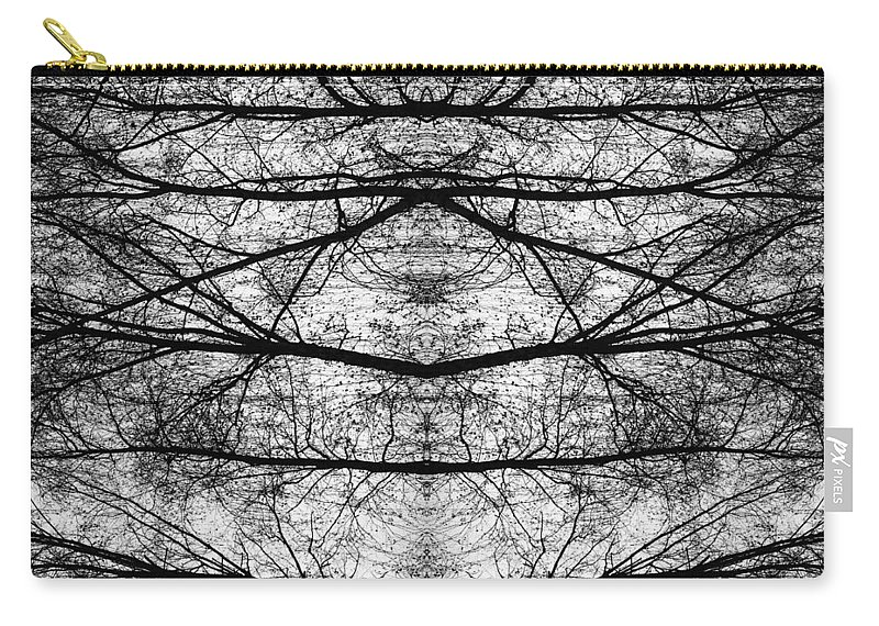 Branch Carry-all Pouch featuring the photograph Forest Of Seperation by John Williams