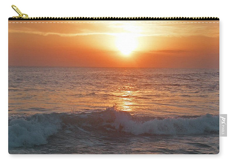 Bali Carry-all Pouch featuring the photograph Tropical Bali Sunset by Mark Sellers