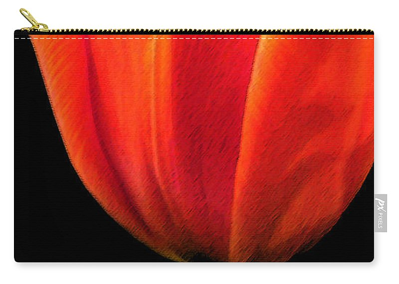 Tulips Carry-all Pouch featuring the photograph Tulip by Amanda Barcon