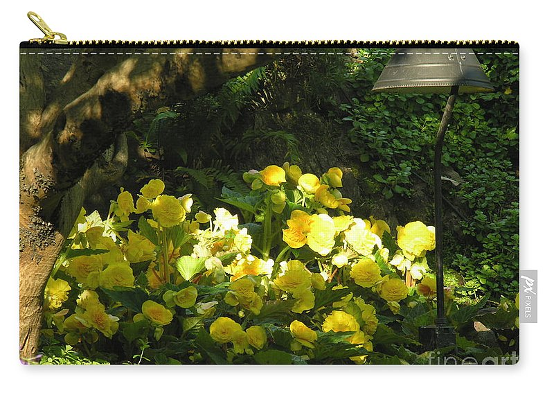 Yello Carry-all Pouch featuring the photograph Untitled by Diane Greco-Lesser