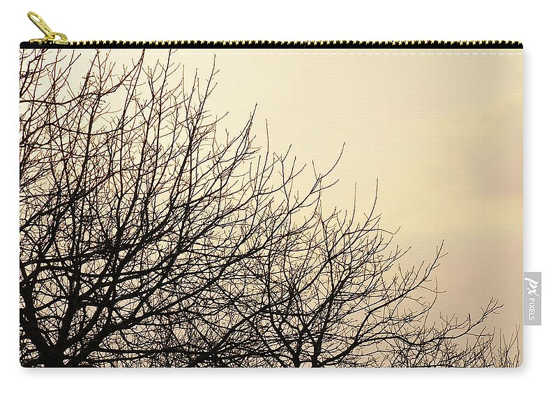 Trees Carry-all Pouch featuring the photograph Untitled by Ilaria Andreucci