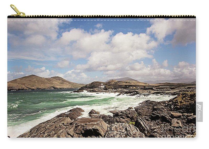 Valentia Island Lighthouse Carry-all Pouch featuring the photograph Valentia Island Lighthouse by Scott Pellegrin
