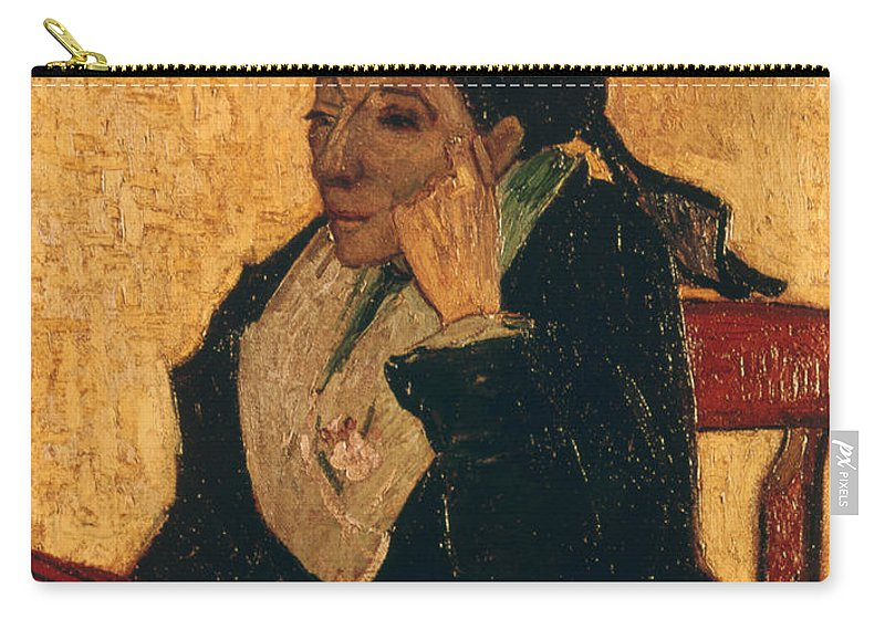 1888 Carry-all Pouch featuring the photograph Van Gogh: Larlesienne, 1888 by Granger