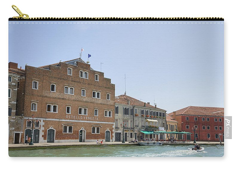 Venice Carry-all Pouch featuring the photograph Venice Italy by Ian Middleton