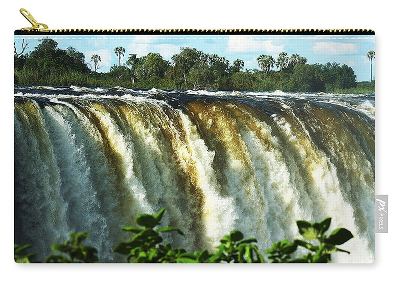 Iconic Carry-all Pouch featuring the photograph Victoria Falls by Suanne Forster