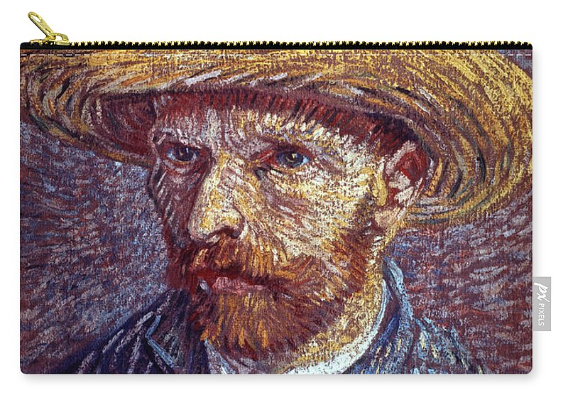 19th Century Carry-all Pouch featuring the photograph Vincent Van Gogh by Granger