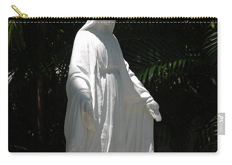 Florida Carry-all Pouch featuring the photograph Virgin Mary by Rob Hans