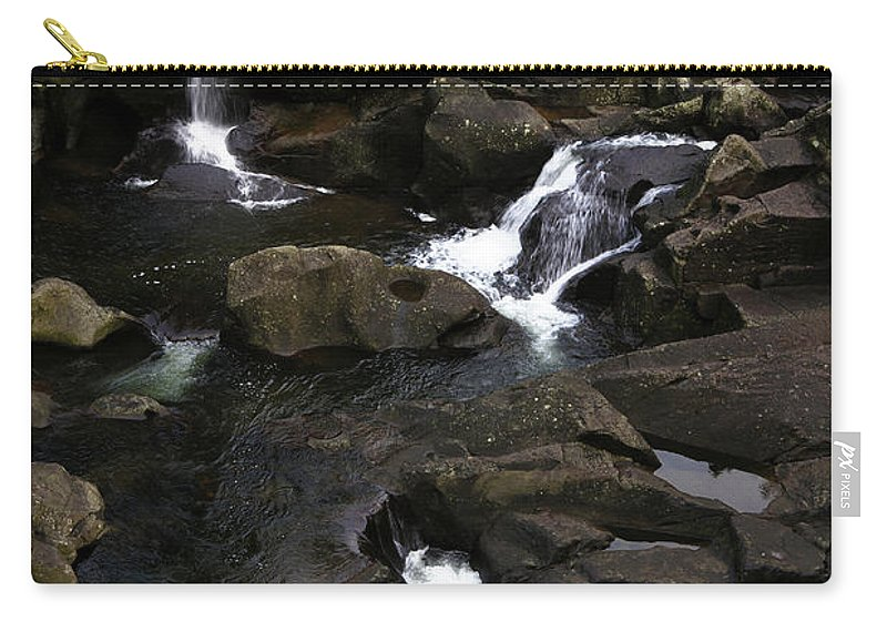 Beautiful Carry-all Pouch featuring the photograph Waterfalls by Les Cunliffe