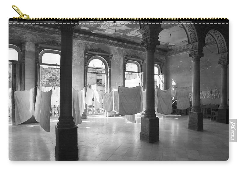 Still Life Carry-all Pouch featuring the photograph Wedding Party Noir by Pierre Logwin