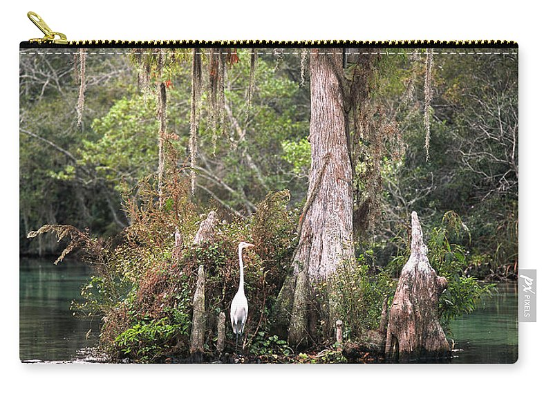 Weeki Wachee Carry-all Pouch featuring the photograph Weeki Wachee River by Steven Sparks