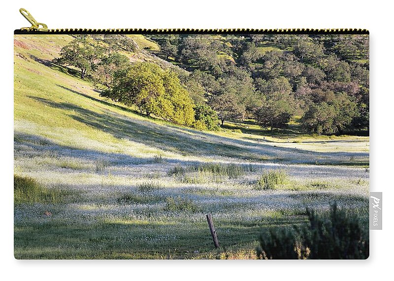 Flowers Carry-all Pouch featuring the photograph White by Michael Brown