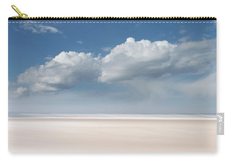 Usa Carry-all Pouch featuring the photograph Wide Open by John Whitmarsh